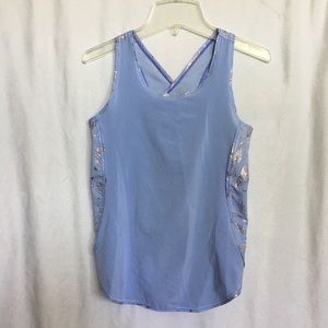 Ivivva periwinkle blue athletic shirt